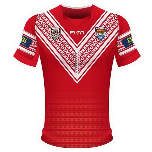 Maillot Rugby Tonga Domicile 2018 Rouge