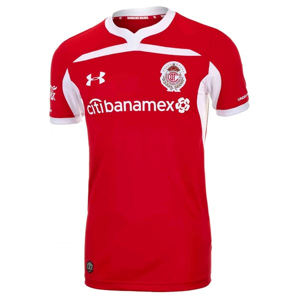 Maillot Foot Pas Cher Deportivo Toluca Domicile 2018/19 Rouge