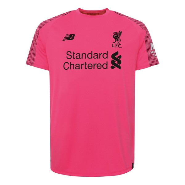 Maillot Foot Pas Cher Liverpool Third Gardien 2018 2019 Rose