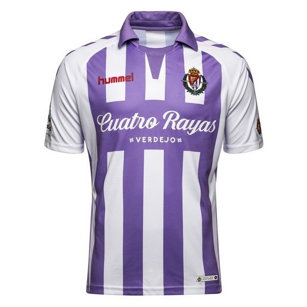 Maillot Foot Pas Cher Real Valladolid Domicile 2018/19 Purpura