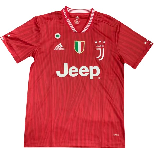 Maillot Foot Pas Cher Juventus Concept 2019/20 Rouge