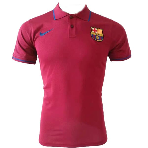 Polo Foot Pas Cher Barcelone 2019/20 Rouge