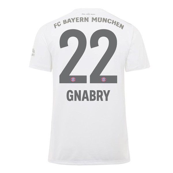 Maillot Foot Pas Cher Bayern Munich NO.22 Gnabry Domicile 2019/20 Rouge