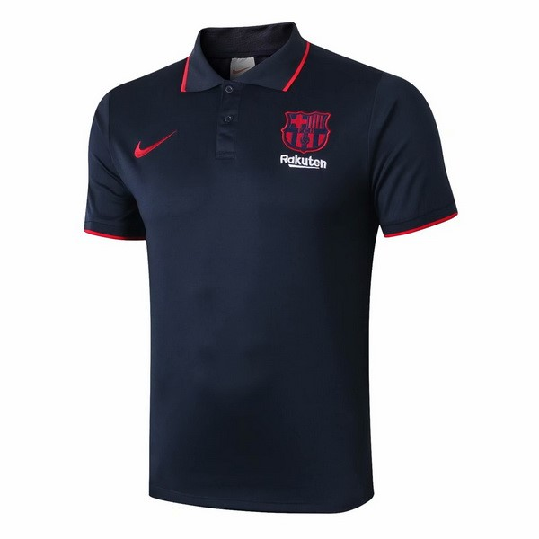 Polo Barcelone 2019/20 Noir Rouge