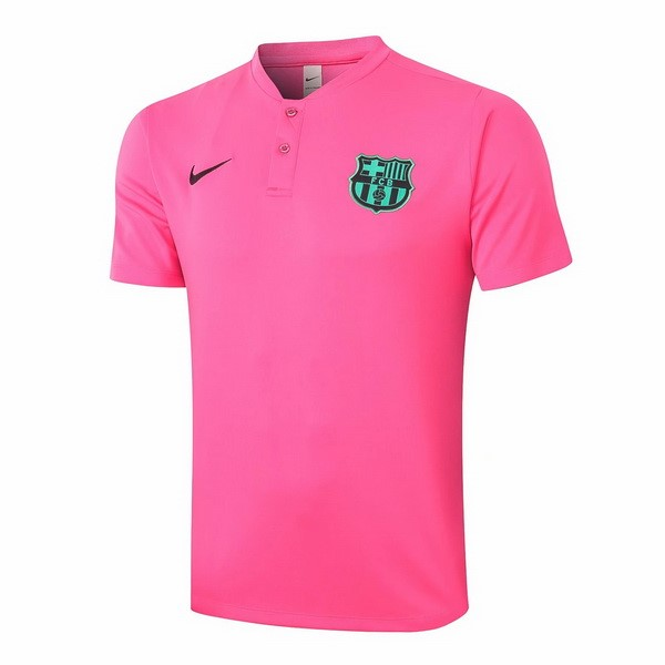 Polo Foot Pas Cher Barcelone 2020/21 Rose