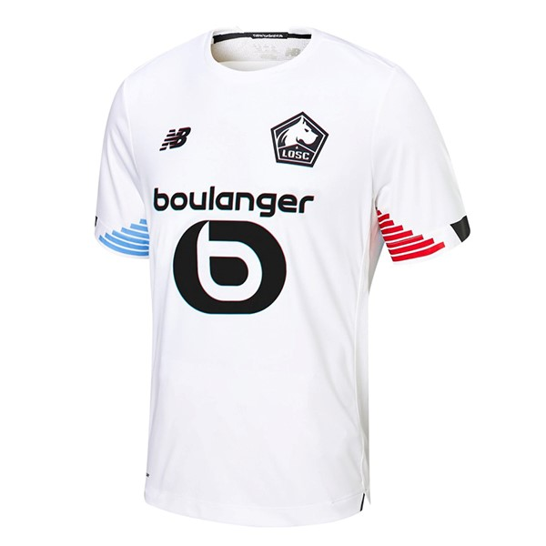 Thailande Maillot Foot Pas Cher Lille Third 2020/21 Blanc