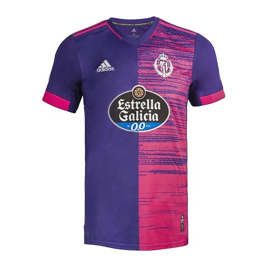 Thailande Maillot Foot Pas Cher Real Valladolid Exterieur 2020/21 Purpura