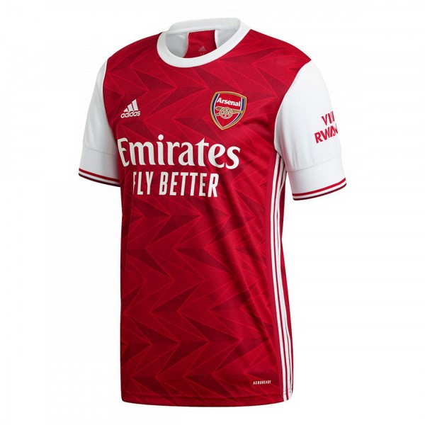 Maillot Foot Pas Cher Arsenal Domicile 2020/21 Rouge