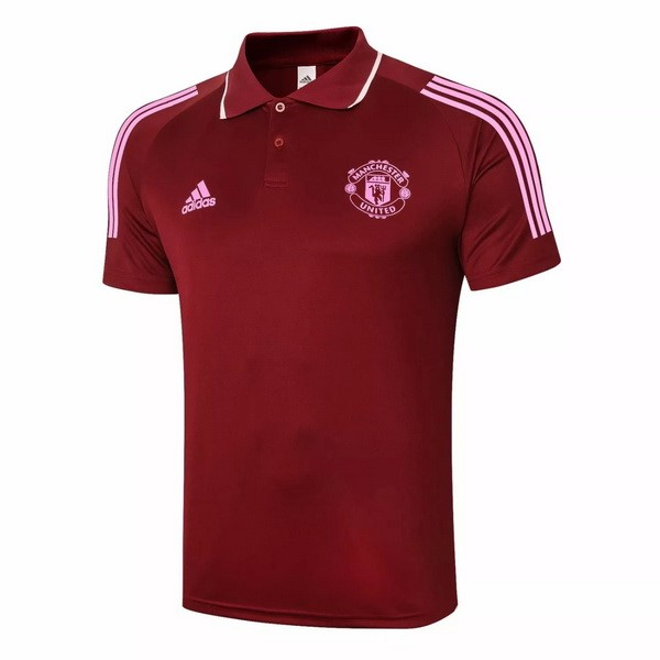 Polo Manchester United 2020/21 Bordeaux