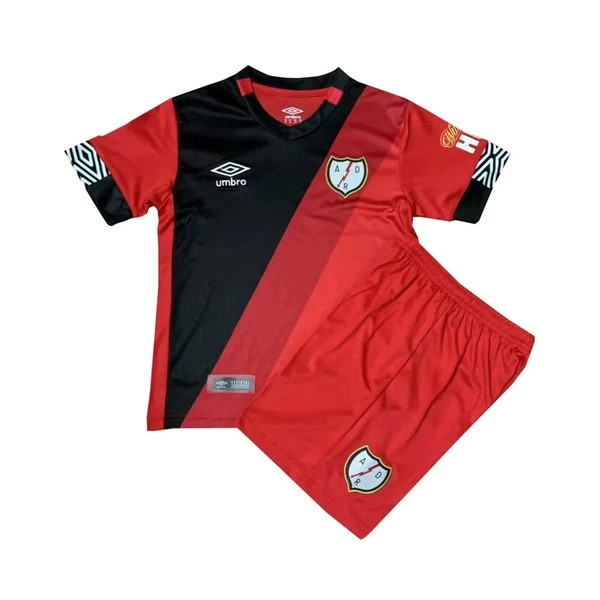 Maillot Foot Pas Cher Rayo Vallecano Third Enfant 2020/21 Rouge
