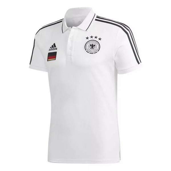 Polo Allemagne 2020 Blanc