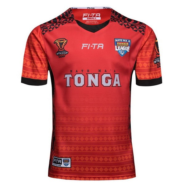 Maillot Rugby Tonga RLWC Domicile 2017-18 Rouge