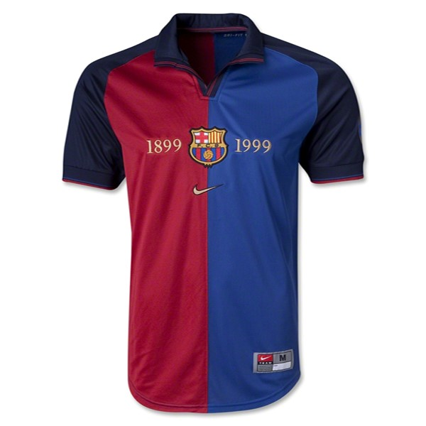 Maillot Foot Pas Cher Barcelone Domicile 1899/1999