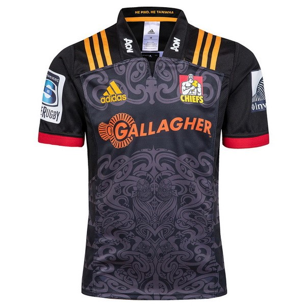 Maillot Rugby Chiefs Domicile 2018 Noir