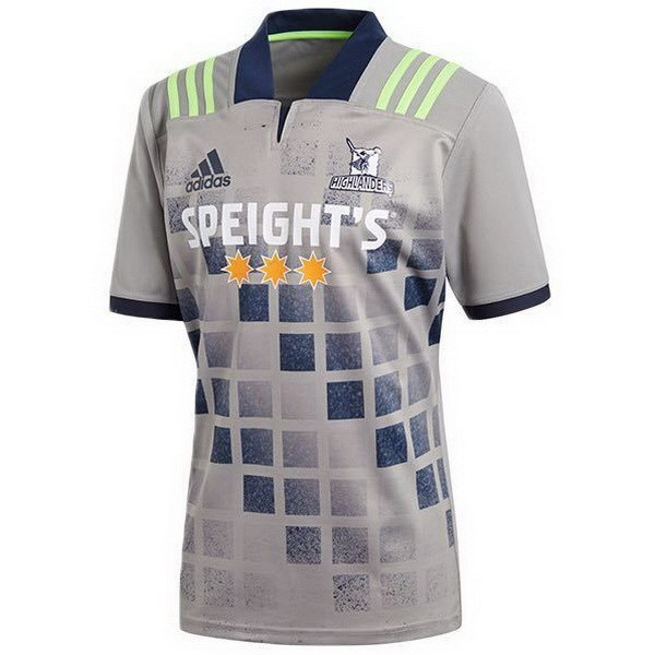 Maillot Rugby Entrainement Highlanders 2018 Gris