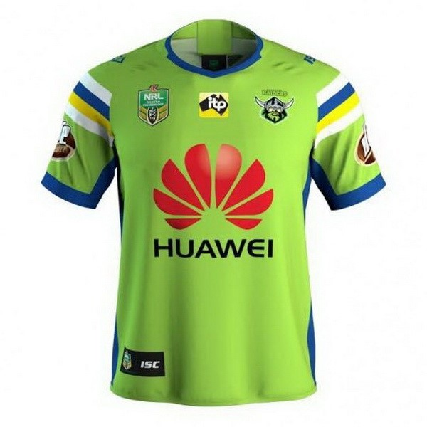 Maillot Rugby Canberra Raiders Domicile 2018 Vert