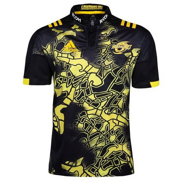 Maillot Rugby Hurricanes 2017-18 Noir