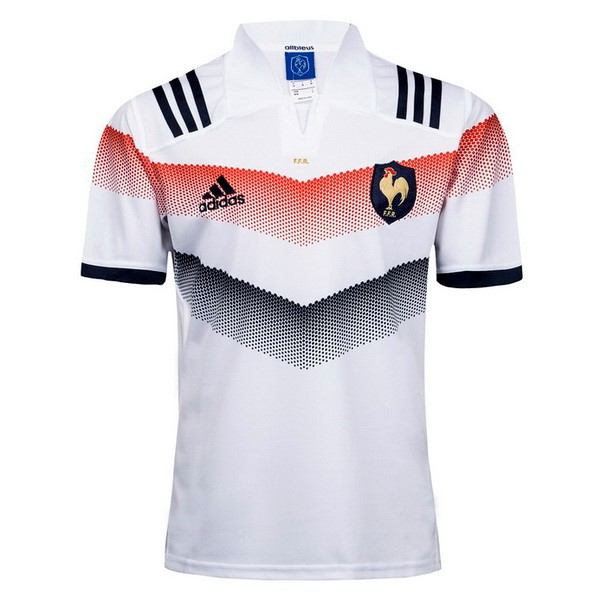 Maillot Rugby France Exterieur 2017-18 Blanc