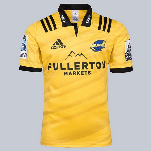 Maillot Rugby Hurricanes Domicile 2018 Jaune